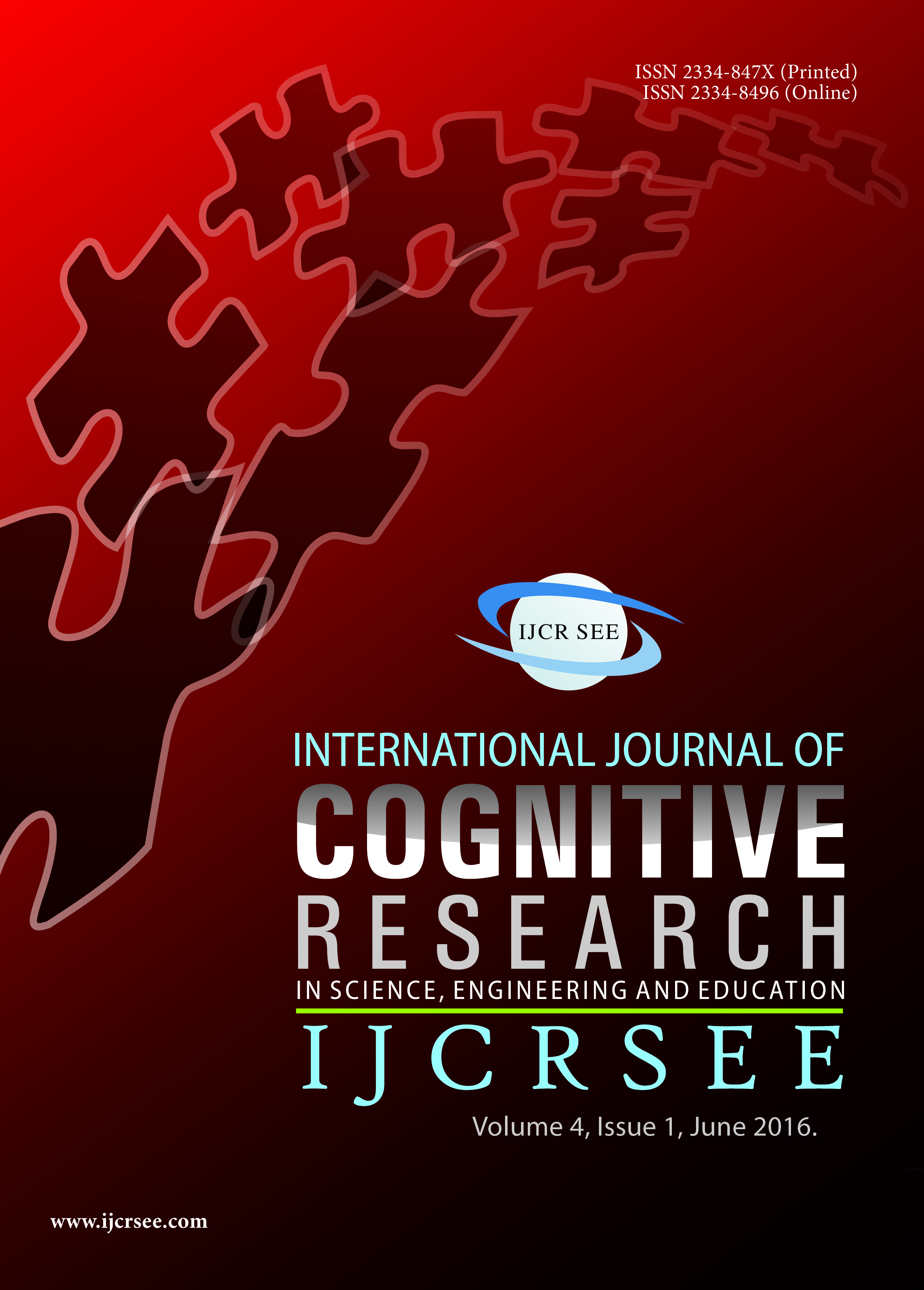 Volume 3 Issue 1 International Journal of Cognitive Research in Science, Engineering and Education (IJCRSEE)