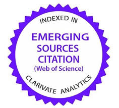 Web of Science (Clarivate Analytics) – Emerging Sources Citation Index (ESCI)